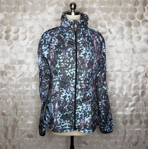 Lululemon Multicolored mesh windbreaker jacket 8